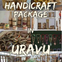 bamboo handicrafts created during craft classes
