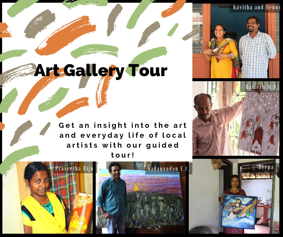 Art Gallery Tour in the Uravu Bamboo Grove Resort