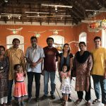 Art biennale in Cochin with the artists of the Uravu Bamboo Grove Resort, Wayanad, Kerala - India